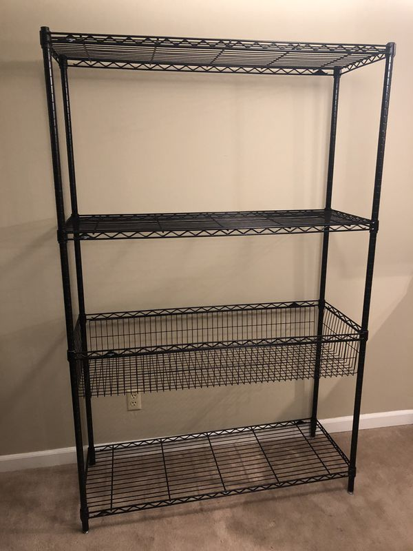 Steel Wire Shelving (Container Store)