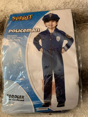 Toddler cop costume for Sale in Rancho Cucamonga, CA