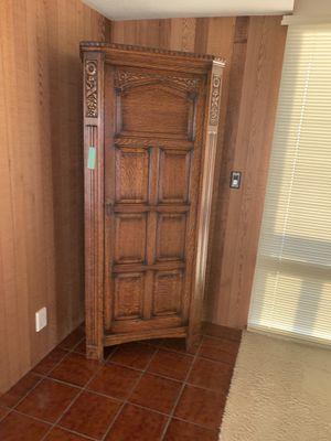 Antique armoire coat closet for Sale in Irvine, CA