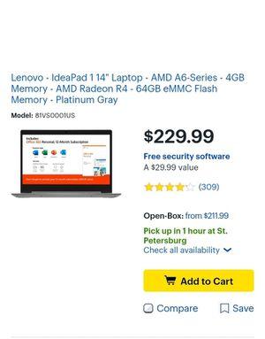 New!!! In box Lenovo 14.5 laptop for Sale in St. Petersburg, FL