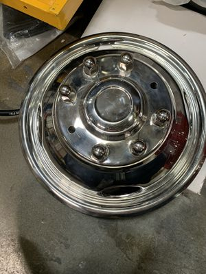 Ford F-350 05'- Current Stainless Steel Wheel cap for Sale in Clearfield, UT