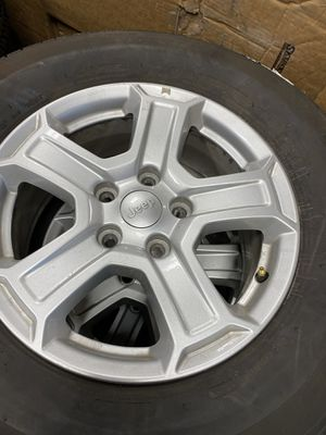 Jeep JL wheels and tires. (4) for Sale in St. Charles, IL