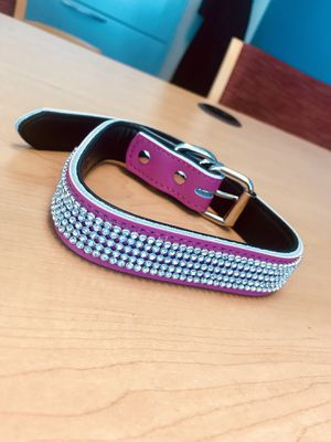 """Hot pink dog collar size 14""""- 18"""" (20"""") for Sale in Damascus, MD"""