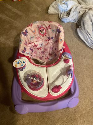 Baby walker seat Minnie Mouse for Sale in Lockport, IL