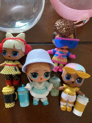 New LOL Dolls $10 each or all for $30 firm for Sale in Palmdale, CA