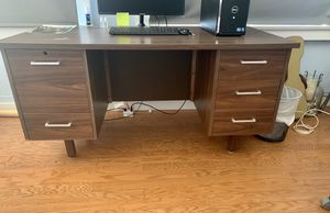 Wooden Desk & office chair for Sale in San Diego, CA