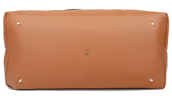 Ulgoo Weekend Duffel Bag Waterproof Nylon Overnight Travel Bag (Large Black)