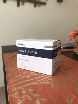 Sigma 30mm F1.4 Sony E for Sale in Miami, FL