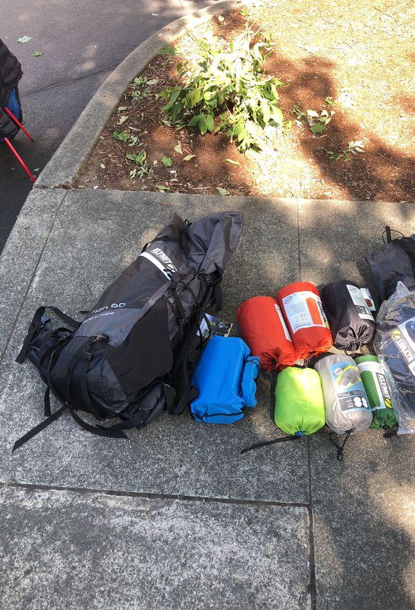 Camping my klymit