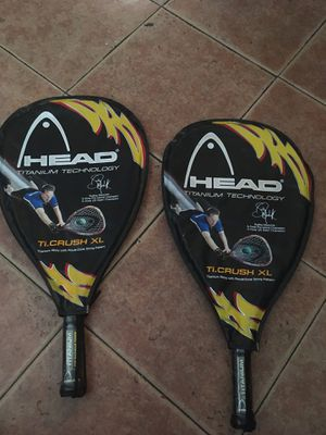 Head TI Crush XL Racketball Tennis Racket Titanium Technology Sudsy Monchik for Sale in Bakersfield, CA