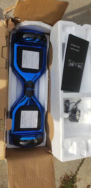 Blue Electric Scooter Hoverboard for Sale in Lakewood, CA