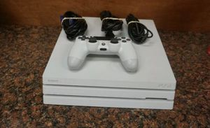 PS4 pro 1TB white for Sale in Yonkers, NY
