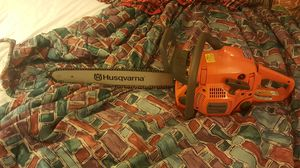 Chainsaw husqvarna for Sale in Columbus, OH