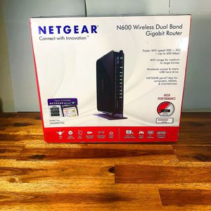 NETGEAR N600 Dual Band Fast High Speed Computer Pc Gaming Wi-Fi Internet for Sale in Pittsburgh, PA