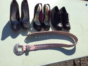 Shoes belt- woman's OBO for Sale in Beaverton, OR