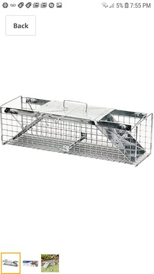 Havahart 1030 Live Animal Two-Door Rabbit, Squirrel, Skunk, and Mink Cage Trap for Sale in Braceville, IL