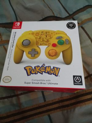 PowerA Pokemon Wireless GameCube Style Controller for Nintendo Switch - Pikachu NEW for Sale in Fort Lauderdale, FL