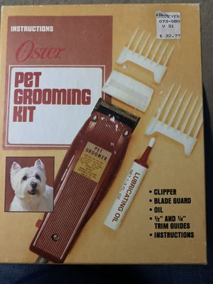 Pet grooming clippers for Sale in Kent, WA