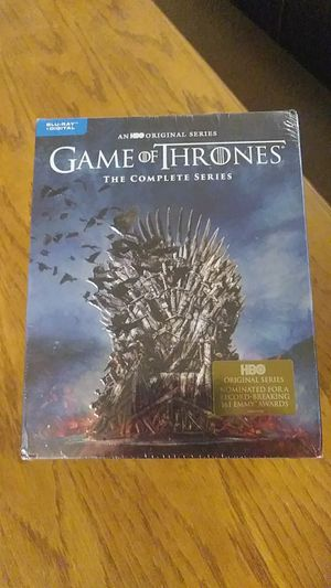 Game of Thrones The Complete Series (Blu-Ray + digital) for Sale in Lakeville, MN