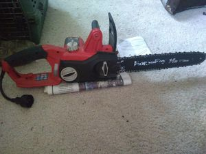 Homelite 14in electric chainsaw for Sale in Haverhill, MA