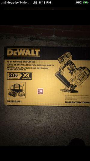 18ga flooring stapler kit for Sale in Landover, MD