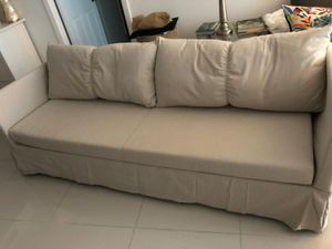Ikea. Sleeper sectional 3 seat for Sale in North Miami Beach, FL