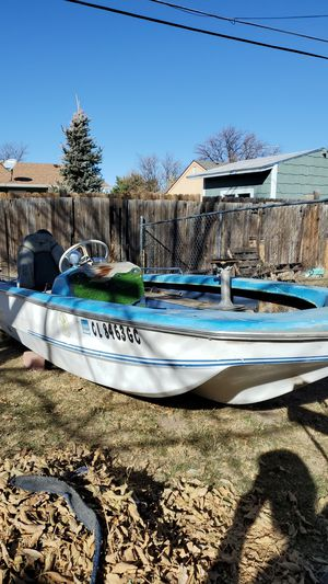 Dein Craft 1973 40hp mercury 402 with TRAILER for Sale in Aurora, CO