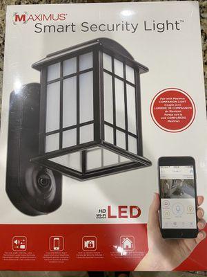 Maximus Smart Camera Security Light for Sale in Murfreesboro, TN