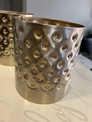 Gold candle holder for Sale in Fresno, CA