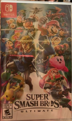 Super Smash Bros Ultimate NINTENDO SWITCH for Sale in Cleveland, OH