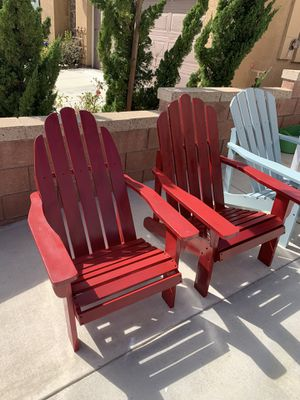 Adirondack chairs for Sale in Fontana, CA