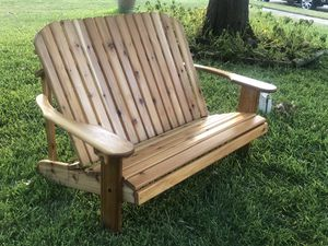 Cedar loveseat for Sale in Richardson, TX