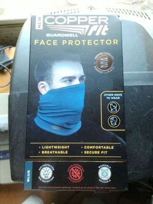 Copper fit face protector for Sale in Rocky Ridge, MD
