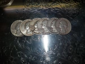 Silver quarter s 12 each for Sale in Wetumpka, AL
