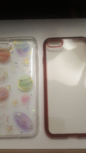 """2 cases for iphone 7/8 4.7"""" not plus clears new 7firm shiping only for Sale in Phoenix, AZ"""