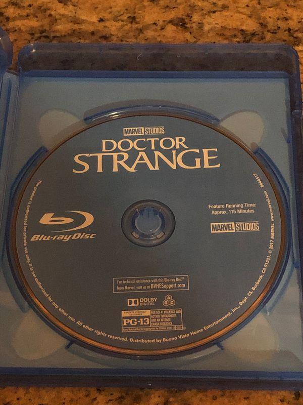 Doctor Strange Blu-ray & DVD $10