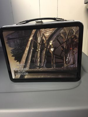 Nightmare before Christmas lunchbox for Sale in Westville, NJ