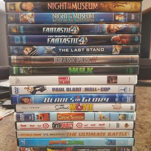 20 DVD Movies (See Pictures) for Sale in Miami, FL