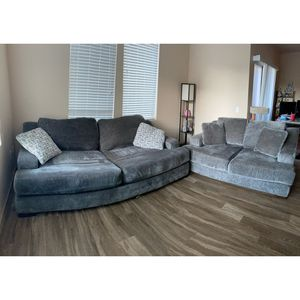 Living Spaces Queen Couch and Loveseat for Sale in Chandler, AZ