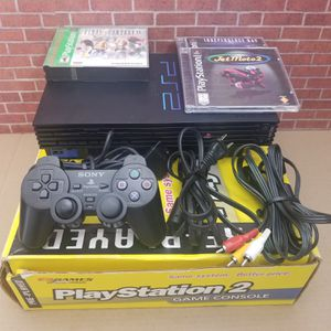 Ps2 Console Complete with 3 games Works Great for Sale in Fresno, CA