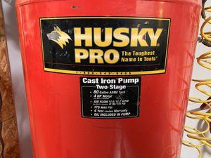 Husky Pro 80 Gallon Air Compressor for Sale in Phoenix, AZ