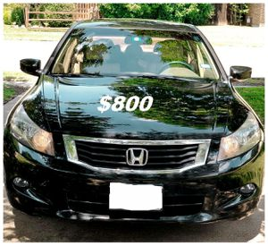 $8OO🔥 Very nice 🔥 2OO9 Honda accord sedan Run and drive very smooth clean title!!!! for Sale in Washington, DC
