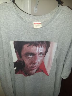 Large Grey Scarface Supreme Shirt for Sale in Chattanooga, TN
