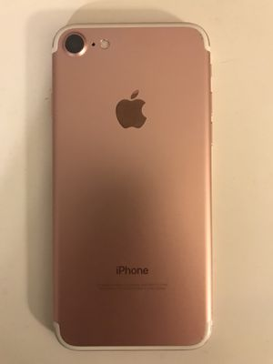Unlocked (VZW) 128 GB IPhone 7 Rose Gold for Sale in Scottsdale, AZ