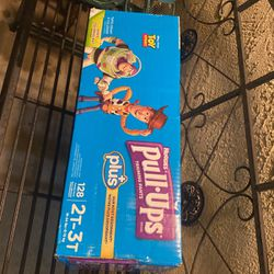 Huggies Pull Ups Training 2T-3T 128 Ct $30 for Sale in Tustin,  CA