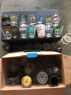 Shot glasses Collection - over 50!!! for Sale in Tampa, FL