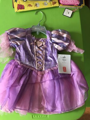 New Rapunzel baby girl Deluxe costume for Sale in Riverside, IL