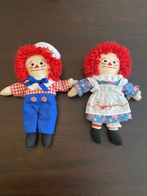 Adorable Raggedy Ann & Andy for Sale in Winter Garden, FL
