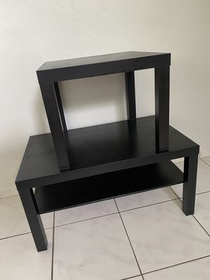 IKEA SIDE AND COFFEE TABLES NOT FREE BEST OFFER for Sale in Miami, FL