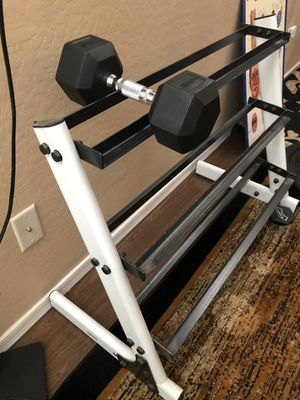 Weight rack for Sale in Chandler, AZ